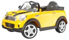 Best Electric Cars for Kids. Mini Cooper Electric Car