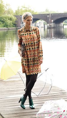 Robe chemisier 113 - Septembre 2012