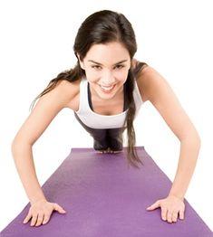 Vil du gerne træne derhjemme i dit eget tempo? Her får du øvelser til arme, balder, lår, mave og ryg - lige til at printe ud