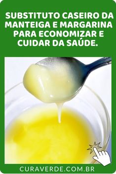 """""""Substituto Caseiro da Manteiga e Margarina para Cuidar da Saúde.  Você tem o costume de utilizar manteiga no seu dia a dia? Então, descubra um Substituto caseiro da manteiga e margarina muito mais saudável!   #febres   #fortalece os tecidos   #herpes   #melhora a memória  """" Spirulina, Cantaloupe, Pudding, Fruit, Health, Desserts, Lactose, Food, Butter Substitute"""
