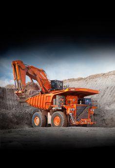 Hitachi mining truck and excavator | Hitachi Construction Machinery Australia