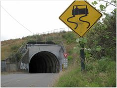 Ruston Tunnel, I miss it!  Honk your horn before you enter and while you are driving in it!!!!