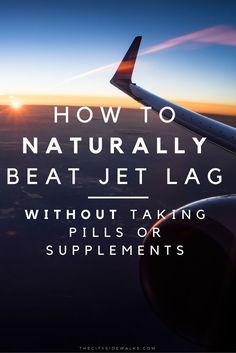 Don't let jet lag ever get in the way of your travels again! This guide will show you how to beat jet lag like a travel pro with 10 easy steps. The best part is you can do it all naturally without taking any pills, supplements, or sleep aids.
