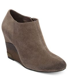 Vince Camuto Boots, Hamil Wedge Booties - Boots - Shoes - Macy's