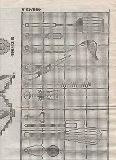 Gallery.ru / Фото #111 - Crochet Filet pour Point de Croix 1 - Mongia