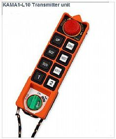 KAMA1-L10 8 Διπλών Θέσεων Μπουτόν + Κλειδί ΟΝ-ΟFF + Μπουτόν Ασφαλείας + Αλάρμ - ΤΗΛΕΧΕΙΡΙΣΜΟΣ KAMA1-L10 - Τηλεχειρισμός γερανογεφυρών Nintendo Wii Controller, Crane, Remote, Personalized Items, Pilot