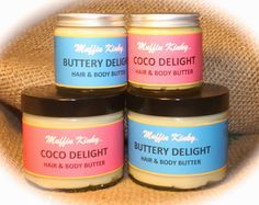 Muffin Kinky: All-Natural buttery delights for Hair & Body, Copyright  © Muffin ink