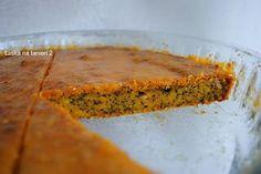 Láska na tanieri 2: Tekvicový koláč s makom a vlašskými orechami :-)