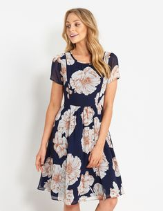 Image for Floral Midi Dress from Dotti NZ