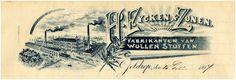 H. Eijcken & Zonen. Fabrikanten van wollen stoffen