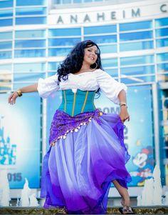 Best esmeralda costume ive seen yet especially the shirt my esmeralda hunchback of notre dame custom made costume gypsy cosplay solutioingenieria Images
