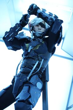 Raiden - Metal Gear Rising Revengeance cosplay by DAN-su #Metal Gear #cosplay