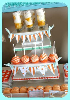{Whale of a Baby Shower} | LUX EVENTS AND DESIGN