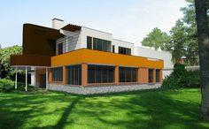Villa Mairea. Render designed on 5 June, 2015
