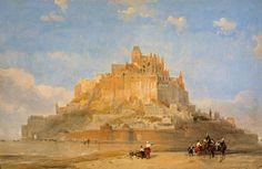 David Roberts (1796-1864) - Mont St. Michel, 1848
