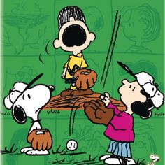 I'm just like the little Snoopy there in the corner.