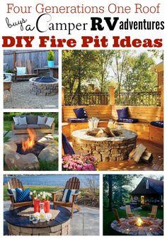 DIY fire pit ideas