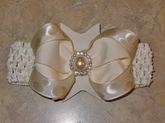 Flower Girl Headband and Bow!