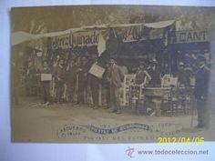 POSTAL EXCEPCIONAL PIEZA DE MOVIMIENTO DE 1905 DE FIESTA DE COBADONGA TIVOLI DEL ELISEO RARISIMAS - Foto 1