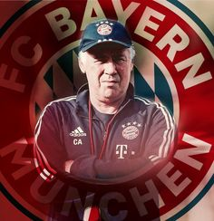 Carlo Ancelotti, Trainer, Adidas, Baseball Cards, Sports, Fc Bayern Munich, Hs Sports, Sport