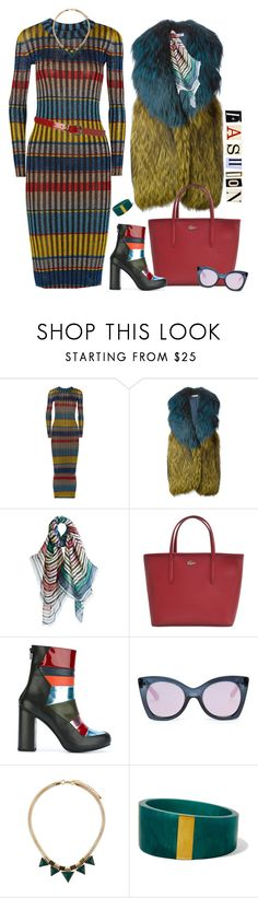 """""""#PolyPresents: Wish List"""" by ysmn-pan ❤ liked on Polyvore featuring Missoni, Liska, Lacoste, House of Holland, Le Specs, Dorothy Perkins, Isabel Marant, contestentry and polyPresents"""