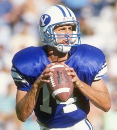 Ty Detmer of Brigham Young finished college in 1991 with the touchdown pass record.