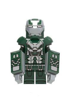 Lego Custom Minifigures, Lego Minifigs, Lego Ninjago, Lego Iron Man, Lego Man, Legos, Lego Deadpool, Amazing Lego Creations, Lego Mecha