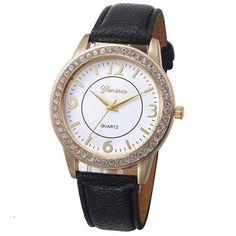 Mens Watches Top Brand Luxury Mens Bracelet Weave Wrap Quartz Leather Leaf Beads Wrist Watcheserkek Kol Saatihot Sales #10 Be Friendly In Use Men's Watches