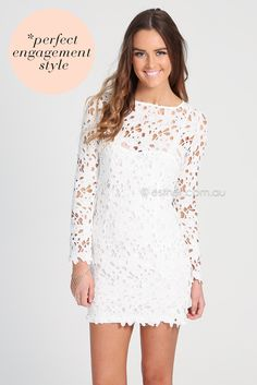 jayme lace dress - white   Esther clothing Australia and America USA, boutique online ladies fashion store, shop global womens wear worldwid...