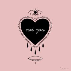 tattoo series ♡ not you