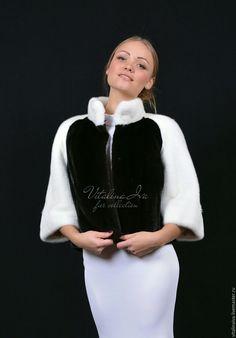 Шубка ПАНДА – купить или заказать в интернет-магазине на Ярмарке Мастеров   Маленькая шубка из меха Чёрной натуральной норки…