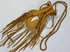 Native American Medicine Bags & Pouches