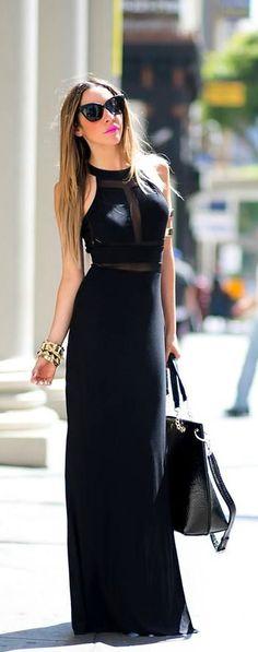 Black Maxi Perfection #LBD