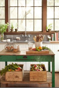Restored and Rare | Simple DIY Kitchen Island Ideas