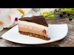 Cheesecake în trei culori și trei arome - cel mai fin și delicios desert fără coacere! - savuros.info