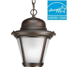 f699aad9ca Progress Lighting Westport Collection 1-Light Antique Bronze LED Hanging  Lantern P5530-2030K9 at