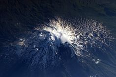 Mount Ararat, Turkey, as photographed from the ISS, International Space Station. Technology can be such a blessing.