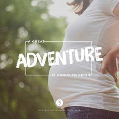 The chapter of #parenthood is one of the greatest in life. For those fortunate enough to become a parent, the joy is unspeakable and the adventure is endless! Take a leap — Embrace the life growing inside. Let the adventure begin!