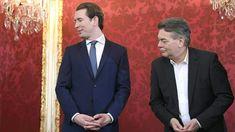 Im Bild: Kurz (links) mit dem Grünen Vizekanzler Werner Kogler.
