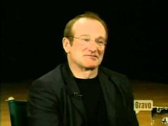"""Robin Williams answers this question... """"If heaven exists what would you like to hear God say when you arrive at the pearly gates?"""""""
