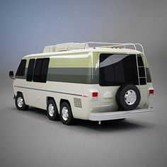 GMC Motorhome <-- our motorhome. :) wish ours had a sweet paint job