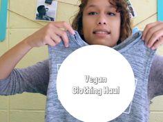Vegan Clothing Haul