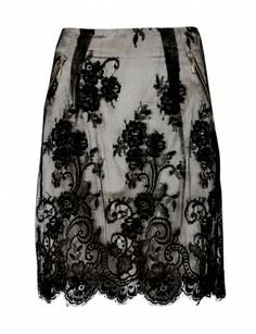 Indra Floral Lace Skirt | Aftershock London