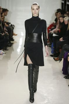 Ralph Rucci RTW Fall 2014 [Photo by George Chinsee]