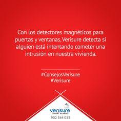 Cin los detectores magnéticos, Verisure detecta si alguien está intentando acceder a nuestra vivienda #ConsejosVerisure