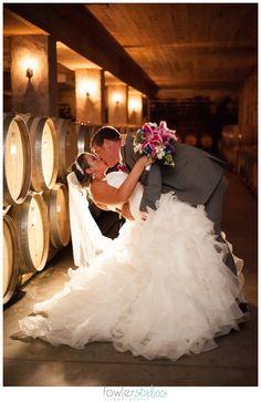 Williamsburg Winery Wedding, Williamsburg, Virginia, Wedmore Place, Wine Cellar