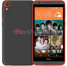 HTC Desire 820U Dual Sim 16GB Unlocked Internatioanl Model - Grey Orange - For Sale