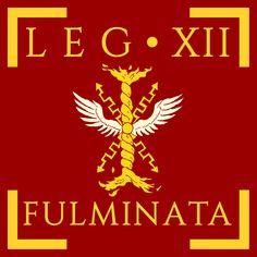 Legio XII Fulminata vexillum by Aquelion