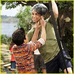 Cameron Boyce Is Back on 'Bunk'D' Tonight! Cameron Boyce, Disney Channel Shows, Disney Shows, Jessie, Karan Brar, Mal And Evie, Anne Mcclain, Disney Cast, Sofia Carson