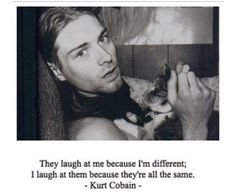 Kurt Cobain Nirvana  Quote